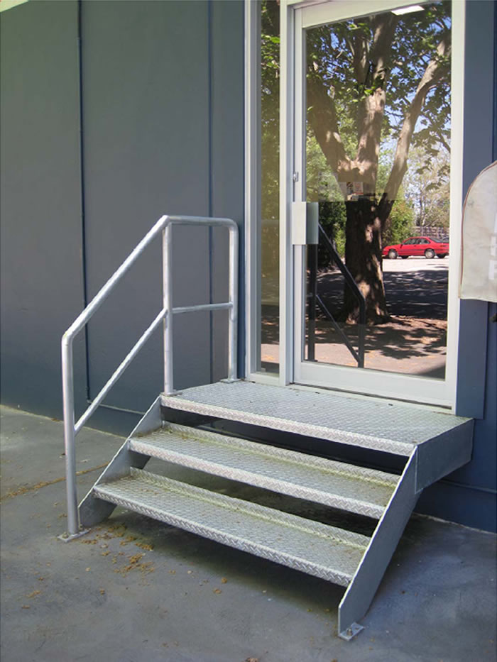 Office stairs welded by AllTek welding
