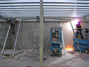 Welding framework for new buildings